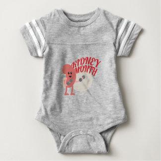 March - Kidney Month - Appreciation Day Baby Bodysuit