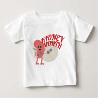 March - Kidney Month - Appreciation Day Baby T-Shirt