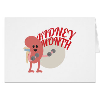 March - Kidney Month - Appreciation Day Card