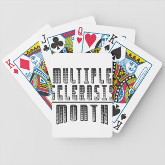 March - Multiple Sclerosis Month Poker Deck