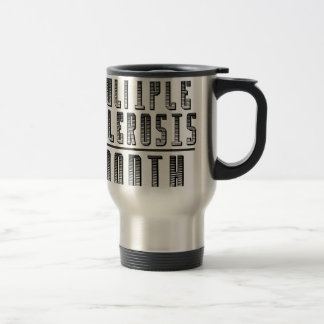 March - Multiple Sclerosis Month Travel Mug