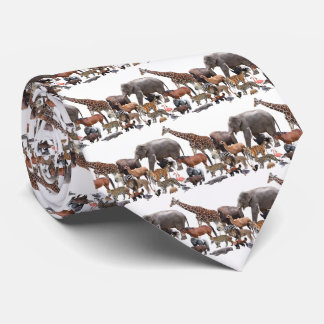 March of animal tie