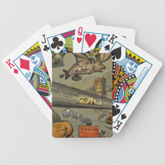 March of the intellect bicycle playing cards
