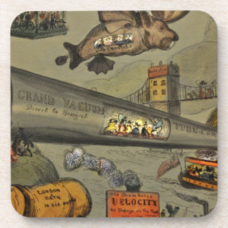 March of the intellect drink coasters