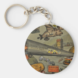 March of the intellect key ring