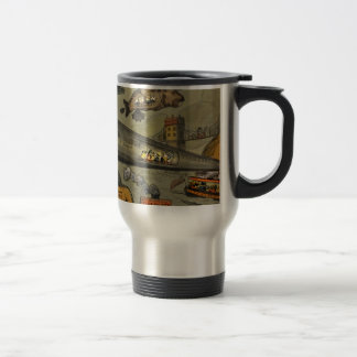 March of the intellect travel mug