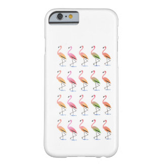 March of the Tropical Flamingos Barely There iPhone 6 Case