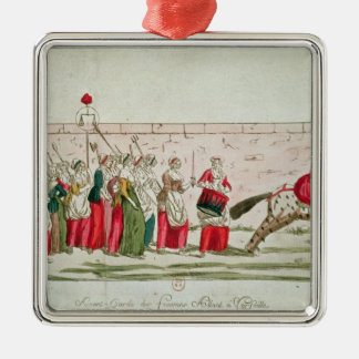 March of the Women on Versailles Christmas Ornaments