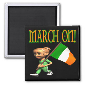 March On Refrigerator Magnets