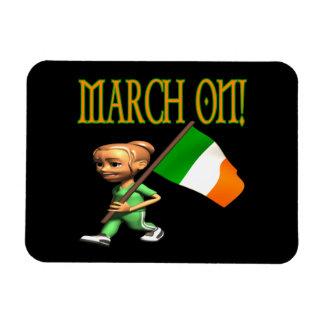 March On Rectangular Magnet