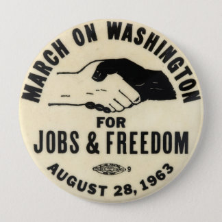 march on washington 1963 button
