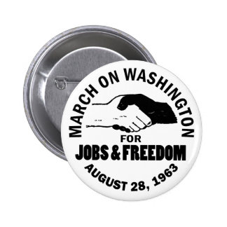 March on Washington 6 Cm Round Badge