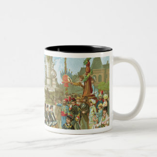 March-Past in the Place de la Republique Coffee Mug