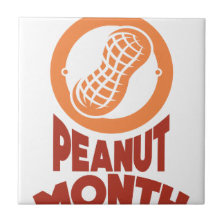 March - Peanut month - Appreciation Day Tile