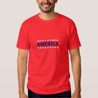 March to keep fear alive: Notch it up a skosh Tshirt
