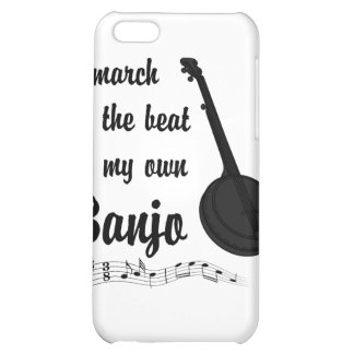 March to the Beat Banjo iPhone 5C Case