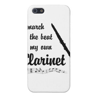 March to the Beat: Clarinet iPhone 5 Case
