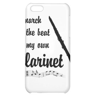 March to the Beat Clarinet iPhone 5C Case
