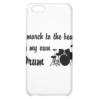 March to the Beat: Drums Case For iPhone 5C
