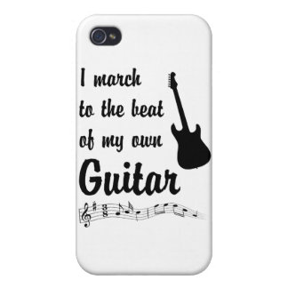 March to the Beat: Guitar iPhone 4 Case