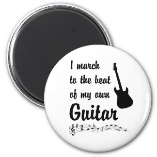 March to the Beat: Guitar Magnets