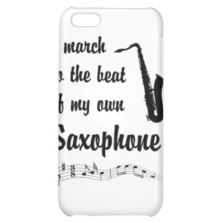 March to the Beat Saxophone iPhone 5C Case