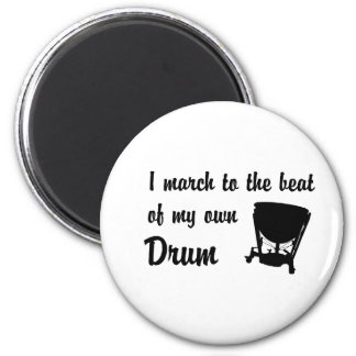 March to the Beat: Timpani Fridge Magnet