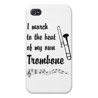 March to the Beat: Trombone Cover For iPhone 4