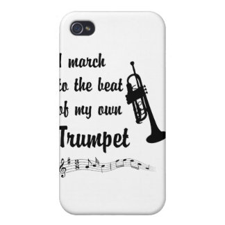March to the Beat: Trumpet iPhone 4/4S Case