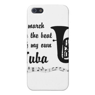 March to the Beat: Tuba iPhone 5 Cover