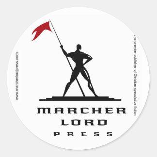 Marcher Lord Press Stickers