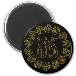 MARCHING BAND 6 CM ROUND MAGNET