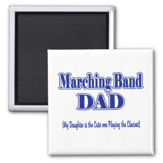 Marching Band Dad/ Clarinet Magnets