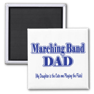 Marching Band Dad/ Flute Magnet