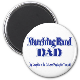 Marching Band Dad/ Trumpet Fridge Magnet