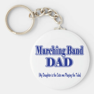 Marching Band Dad/ Tuba Key Ring
