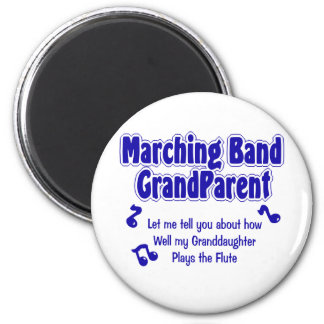 Marching Band Grandparent 6 Cm Round Magnet