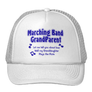 Marching Band Grandparent Mesh Hat