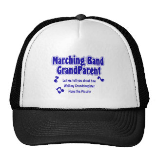 Marching Band Grandparent/ Piccolo Cap