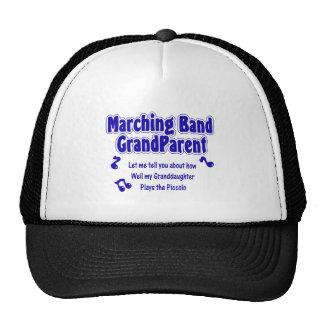 Marching Band Grandparent Piccolo Trucker Hats