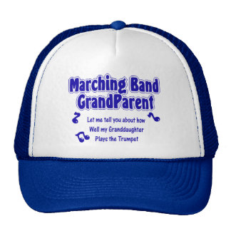 Marching Band Grandparent/ Trumpet Trucker Hats