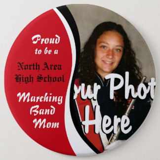 Marching Band Mom 6 Cm Round Badge