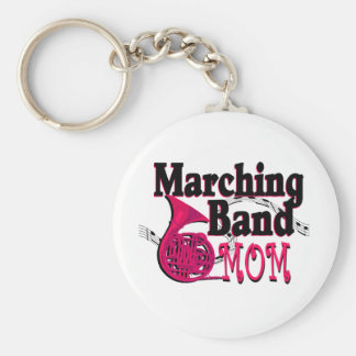 Marching Band Mom/ French Horn Key Ring