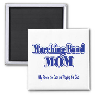 Marching Band Mom/ Saxophone Magnet