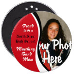 Marching Band Mum 6 Cm Round Badge