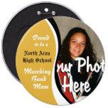 Marching Band Mum Pinback Button