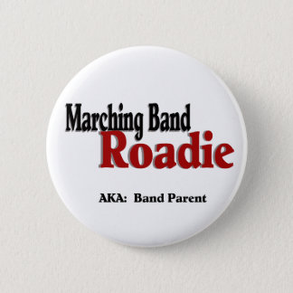 Marching Band Roadie 6 Cm Round Badge