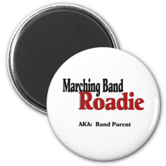Marching Band Roadie 6 Cm Round Magnet
