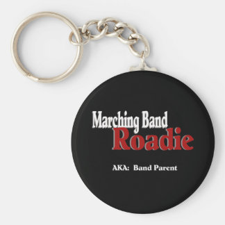 Marching Band Roadie Key Ring