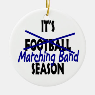 Marching Band Season Ceramic Ornament